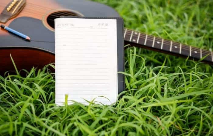 Writing music in nature - 17-01-21