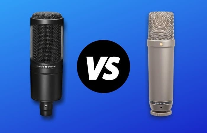 AT2020 vs NT1A – Which Is The Best Mic (In 2021)