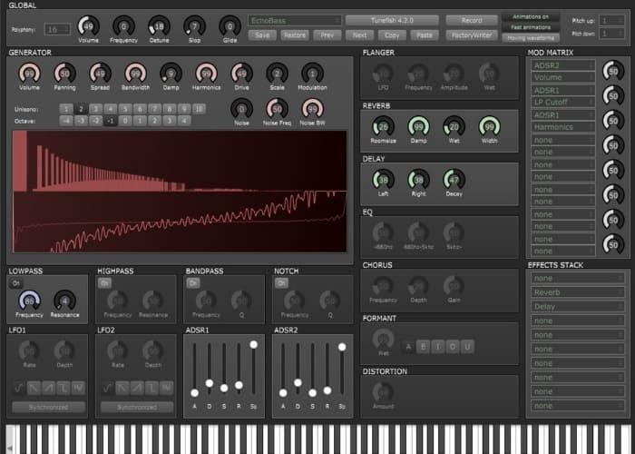 Tunefish 4 VST Synth