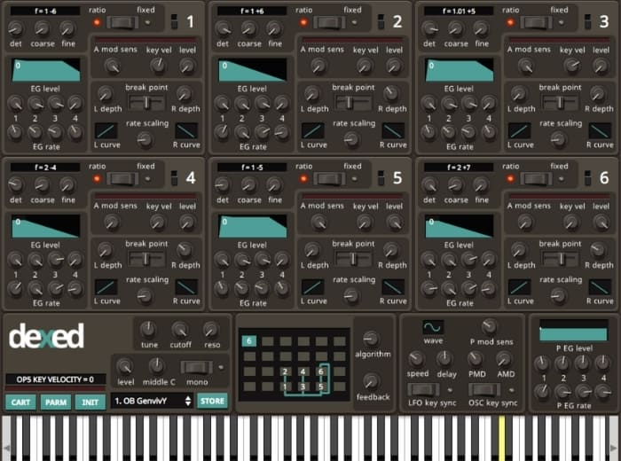 Dexed VST Synth