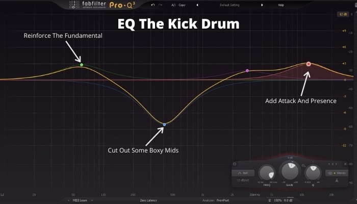 How to EQ The Kick Drum
