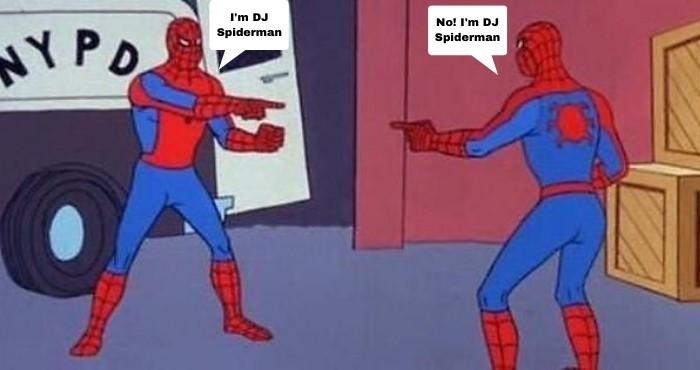I'm DJ Spiderman meme