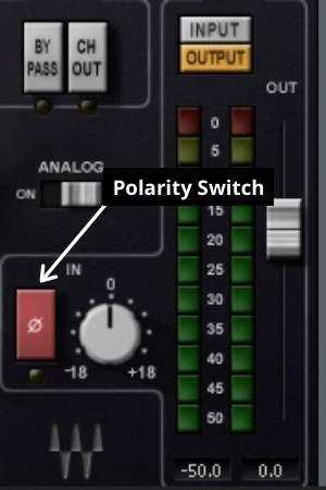 Polarity Switch for phase issues