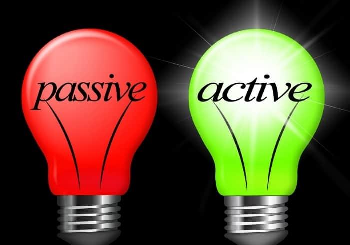 Passive and Active studio lighting