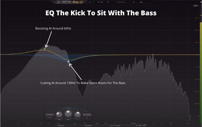 EQ The Kick To Sit With The Bass