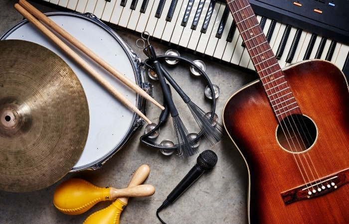 Organizing Samples By Instruments