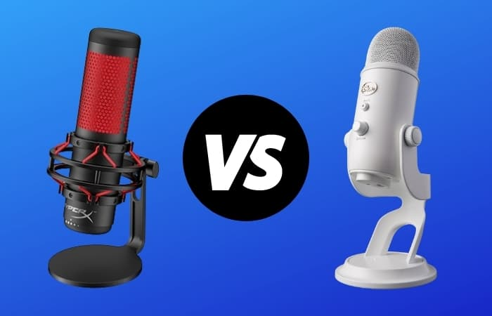 HyperX Quadcast vs Blue Yeti (Which Is Best For You?)