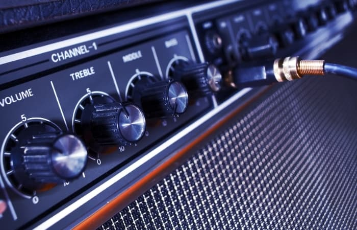 Guitar Amp- In most situations, it's desirable to remove the lowest couple of octaves from guitar amps. You won't be facing problems with a low cut at 60hz or so. It can free up some headroom and make space for the bass and kick.