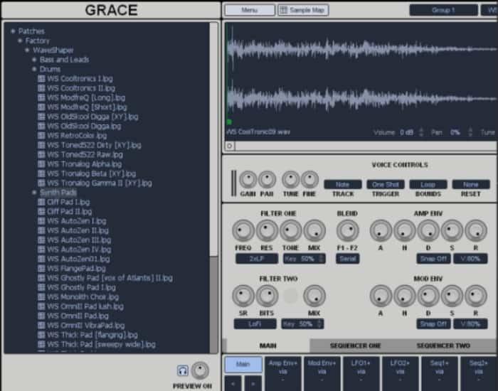 One Small Clue - Grace Sampler