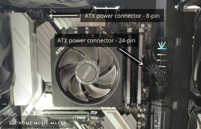 ATX power connectors