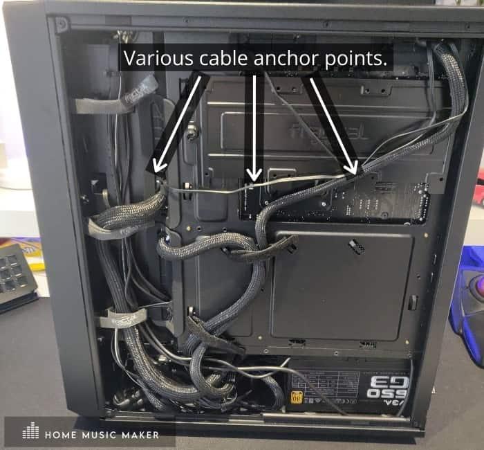 Music Production PC Cable Management