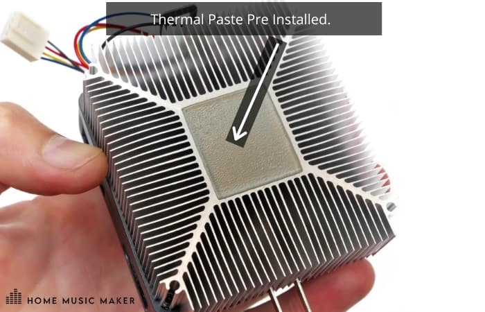 Thermal Paste Pre Installed.