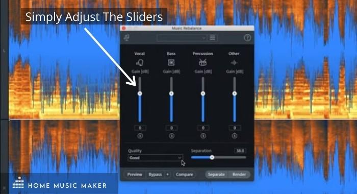 Isolating Vocals With Izotope Music Rebalance