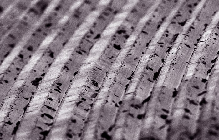 Record Grooves Magnified