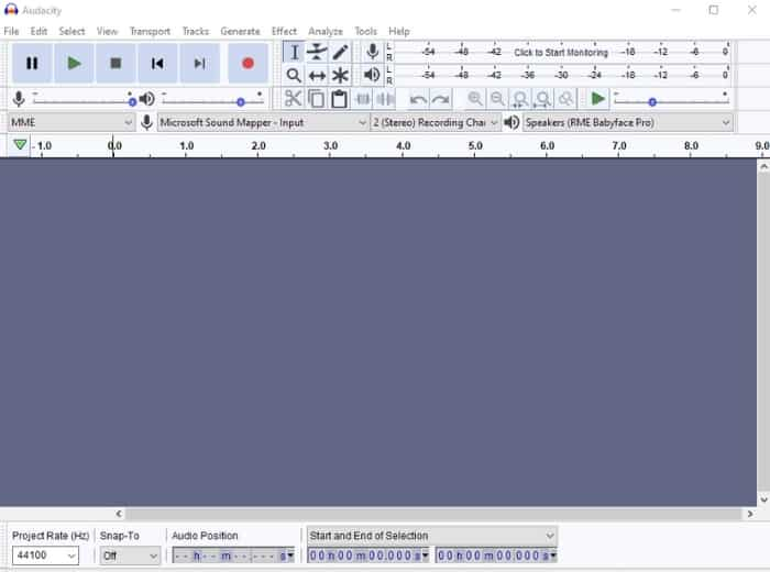 Audacity is free software that has some impressive features