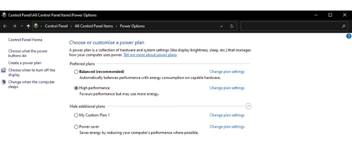If you are using Windows, you can choose the High-Performance power plan when using Ableton.