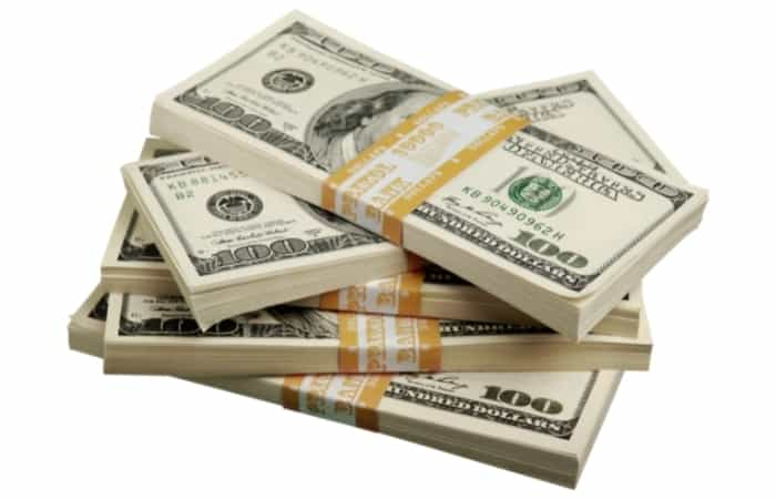 Know Your Worth - If somebody offers you money upfront (and it's not too low), then take the money!
