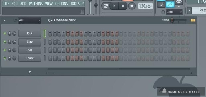 FL Studio sequencer - The FL Studio sequencer is far more intuitive than Ableton Live's 'Session View,' where most beat-making occurs.