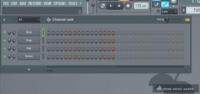 FL Studio Drum Rack