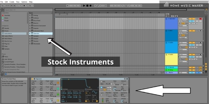 Ableton's Onboard Instruments Are Incredible