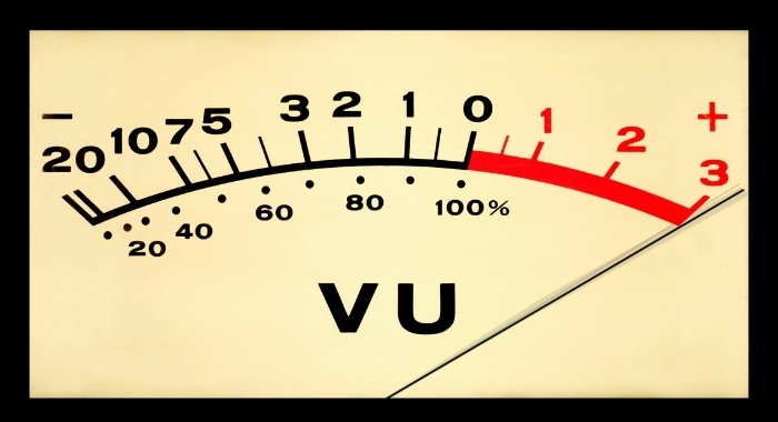 Mastering Boosts The Volume Of Your Tracks  - VU Meter