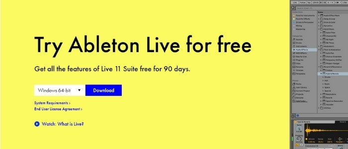 Ableton has recently released Live 11
