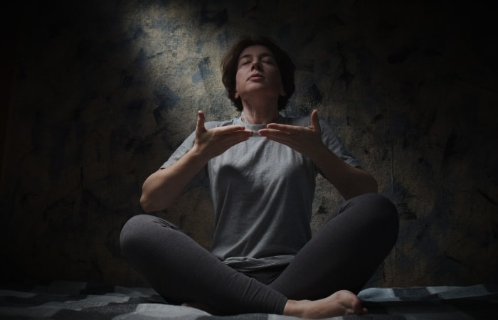 Warm Up Your Voice -  using a humming exercise, which is done similarly to breathing exercises such as yoga; Take long inhales through the nose followed by longer exhales out through pursed lips whilst humming.