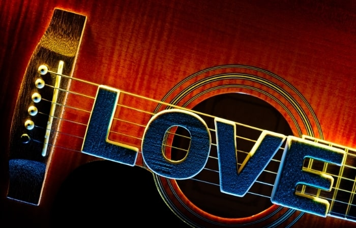 Love for creating music