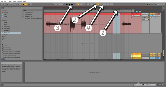 Recording vocals in Ableton