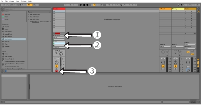 Ableton Arm A Track For Recording