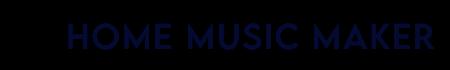 Home Music Maker - Logo New - (Black)
