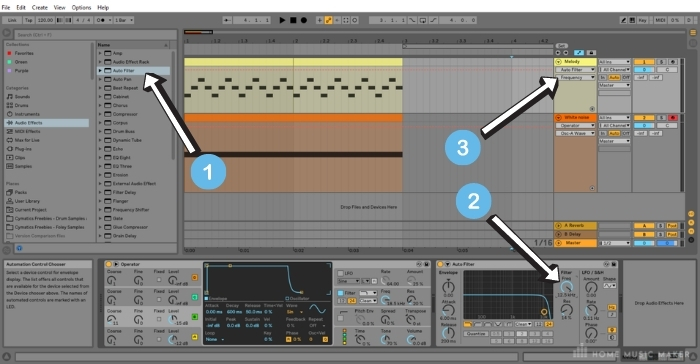 APPLY AUTO-FILTER TO A TRACK