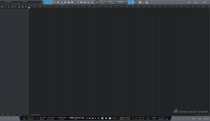 Studio One User Interface