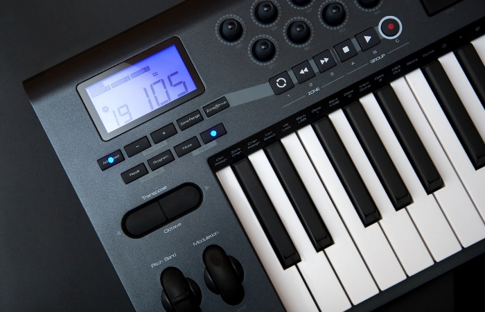 USING A MIDI CONTROLLER CAN BE INSPIRING