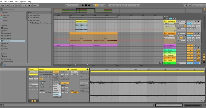 How To Change The Pitch Of A Sample In Ableton