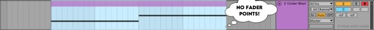 Fade MIDI in Ableton No Drag point
