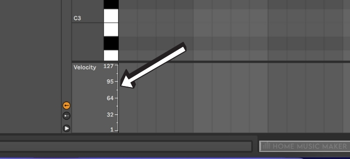 Adjusting Velocity In Piano Roll