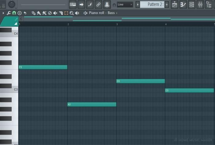 FL Studio pasting notes