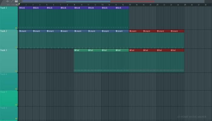 FL Studio patterns copy and paste