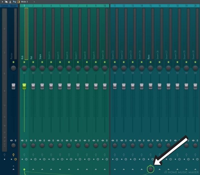 FL Studio right click arrow