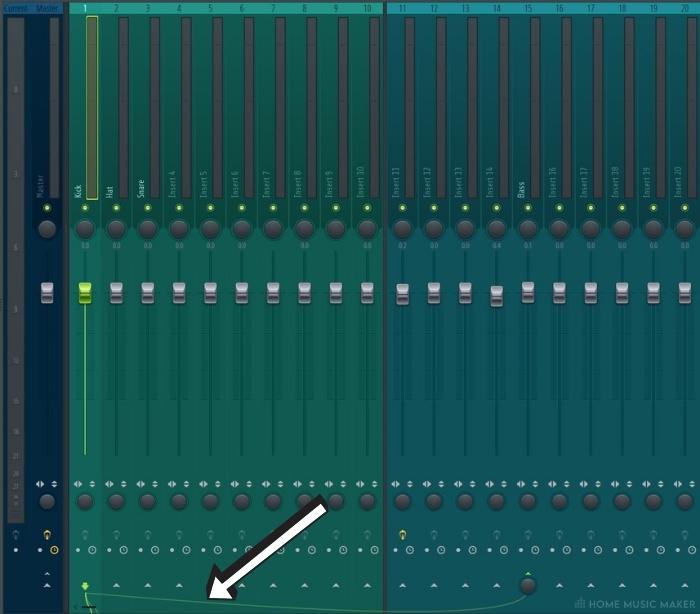 FL Studio tracks linked