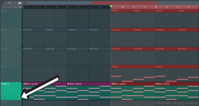 Looping A Single Track In Playlist View in FL Studio