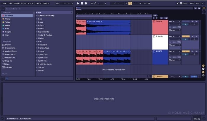 Manually chopping audio in your DAW