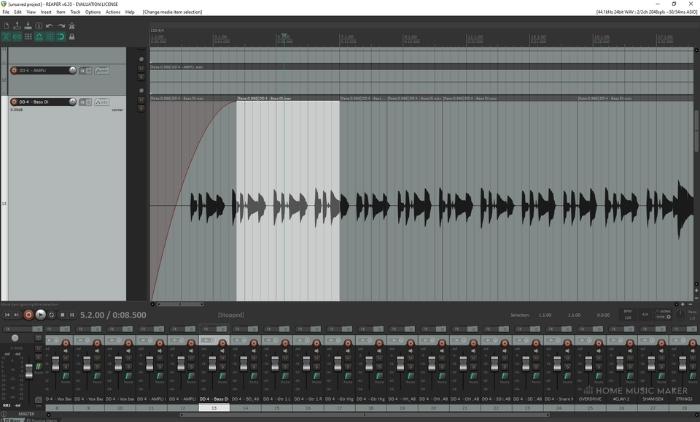Reaper Audio Editor