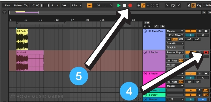 Record in Ableton