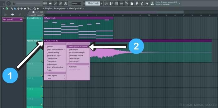 Saving Rendered Audio In FL Studio