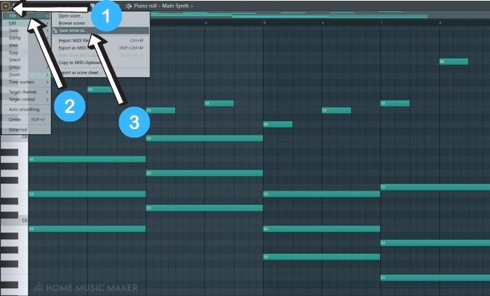 Saving The Pattern In FL Studio 1