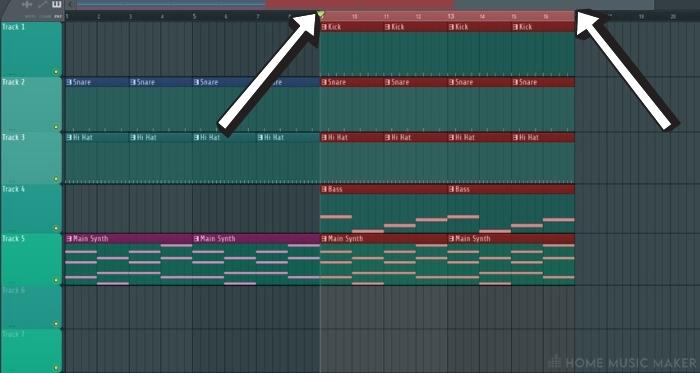 Selecting The Loop in FL Studio 1