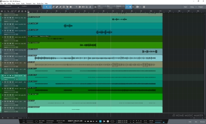 Studio One GUI