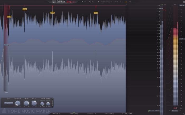 Studio One Transient Control
